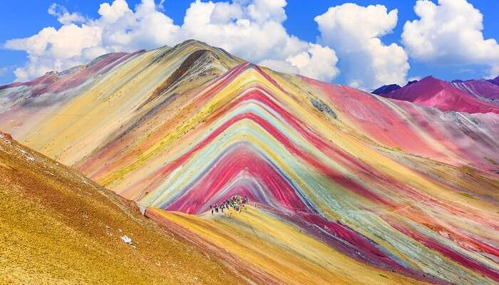 Peru, Rainbow Mountain