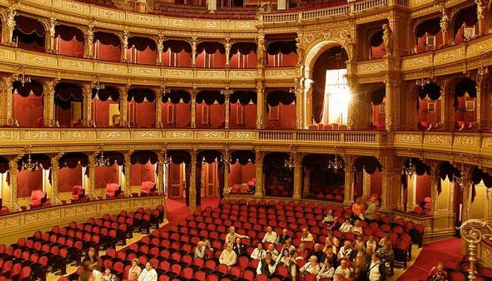 Будапешт Опера интерьер