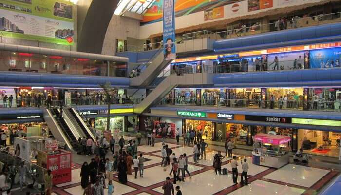inside view of Crystal Mall Rajkot