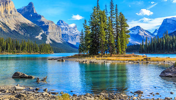 the gorgeous Jasper National Park