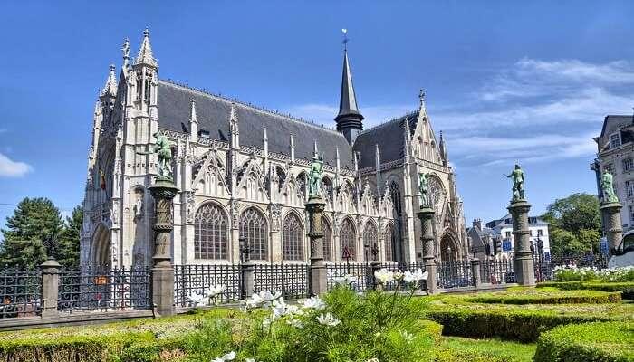 striking beautiful cathedral