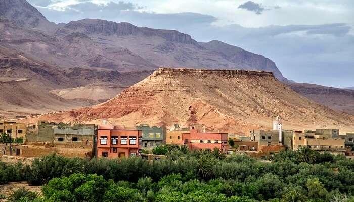 Tinghir au Maroc