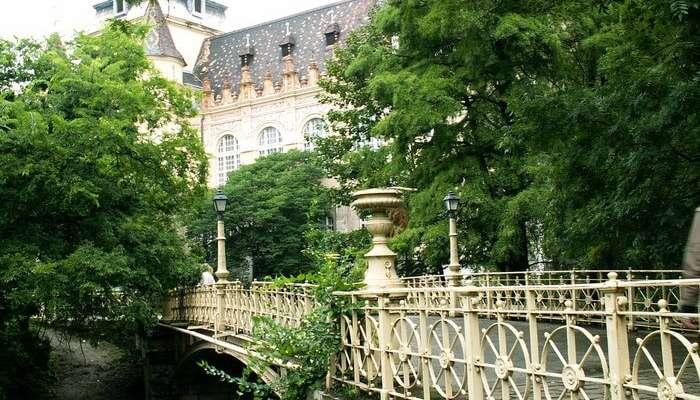 городской парк в Будапеште