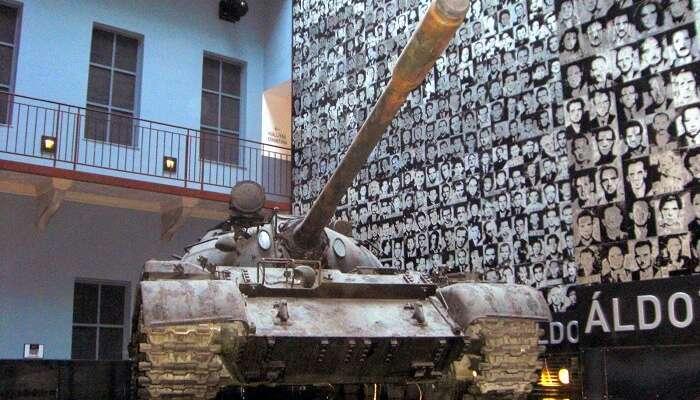 Посетите выставку в Доме террора в Будапеште, Венгрия