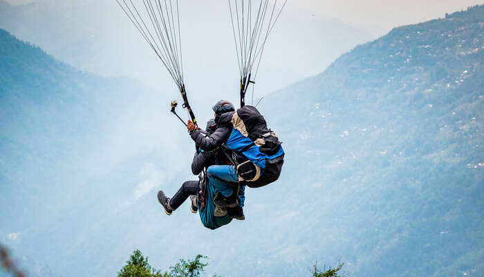 Paragliding In Bhimtal Is Your Chance To Glide Over Nainital's