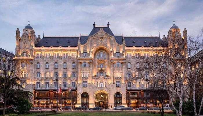 великолепный отель Gresham Palace