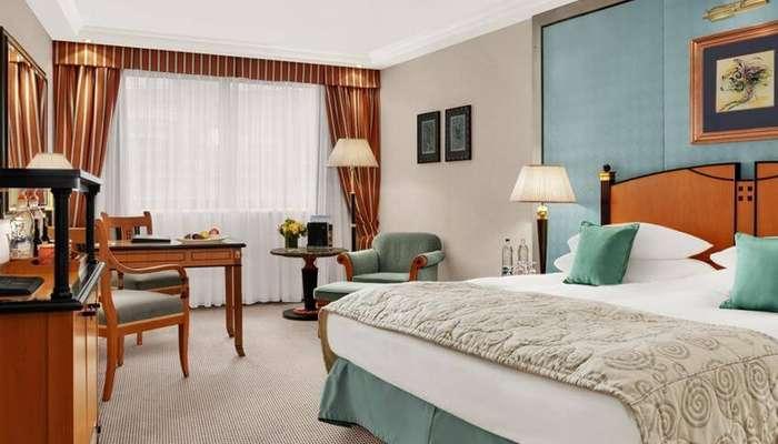 великолепный номер отеля Kempinski Corvinus