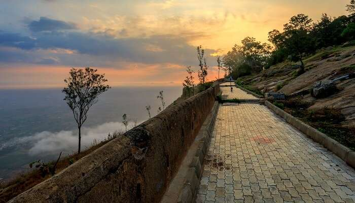 walkway in nandi hills