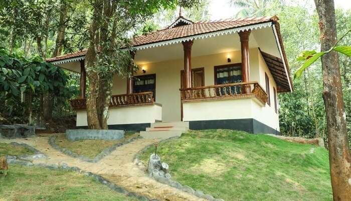 an idyllic holiday home located in kerala
