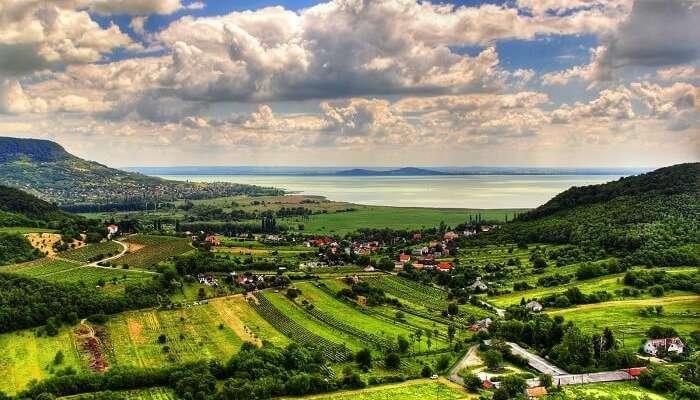 Озеро Балатон Венгрия