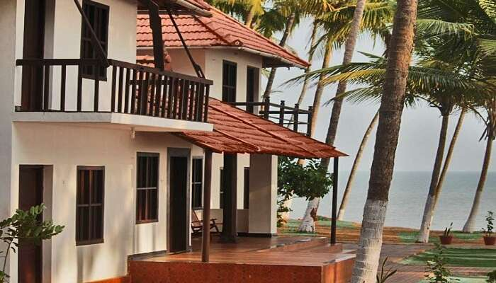 a gorgeous sea view from Kerala traditional style Kanbay Beach Resort ss11052017