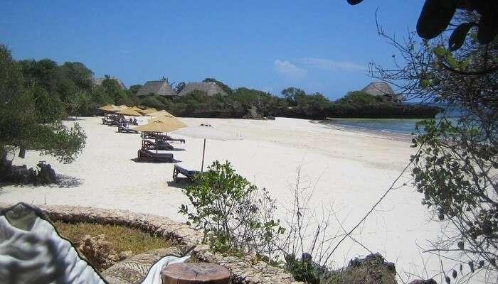 Gazi Beach Kenya