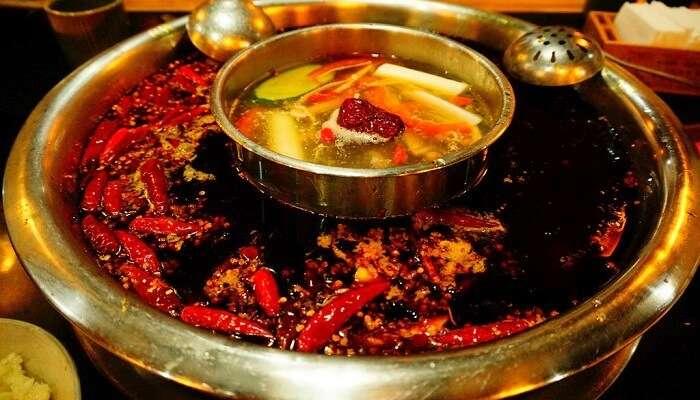 Hot Pot Of Sichuan