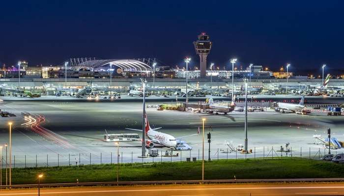 the most beautiful and luxurious airports in Europe