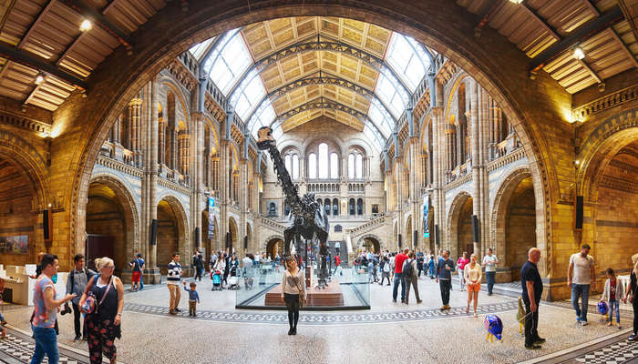 one of the largest museums in London