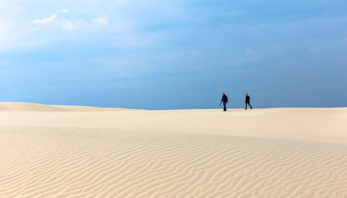 the deserts of Rabjerg Mile