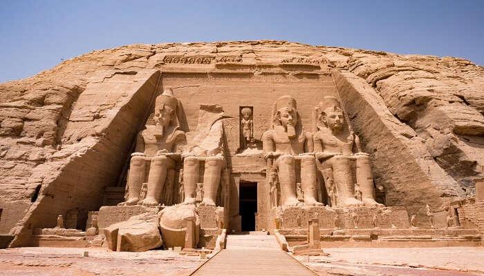 Rock Temples of Abu Simbel egypt