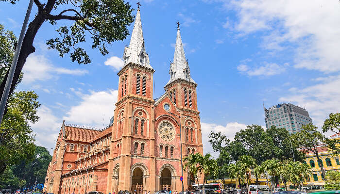 Saigon Notre-Dame Cathedral in Ho Chi Minh