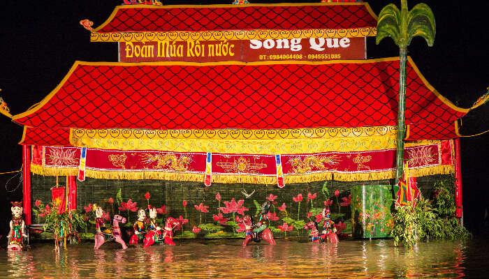 Water Puppet Show in Ho Chi Minh city
