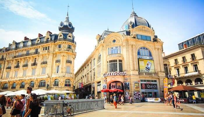 Shopping in Montpellier