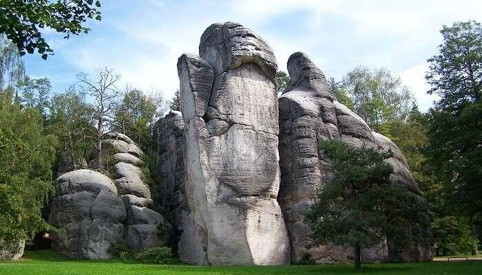 Adršpach Rock City