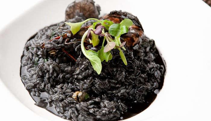 Black Risotto croatia
