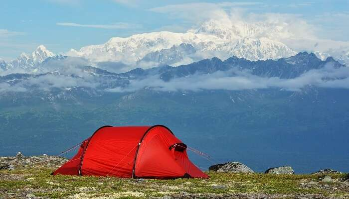 Camping at Denali