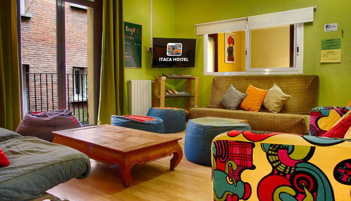 Itaca Hostel in Spain