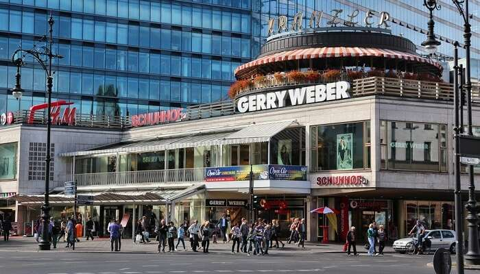 Berlin's most popular shopping street