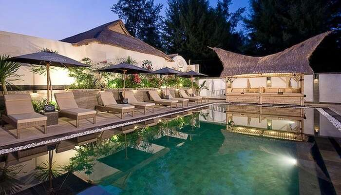 offers an ambience that is extremely refreshing