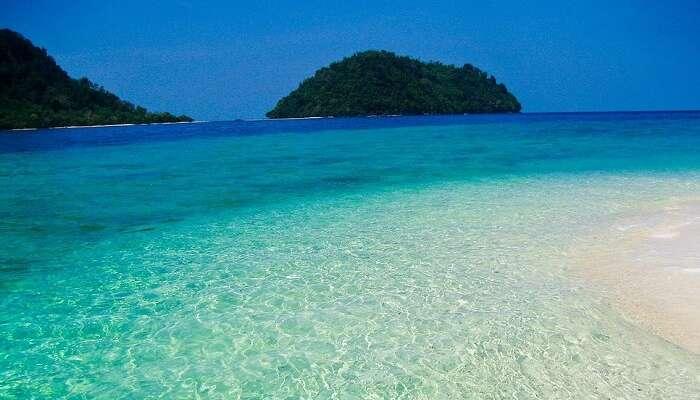 sea view of tarutao island