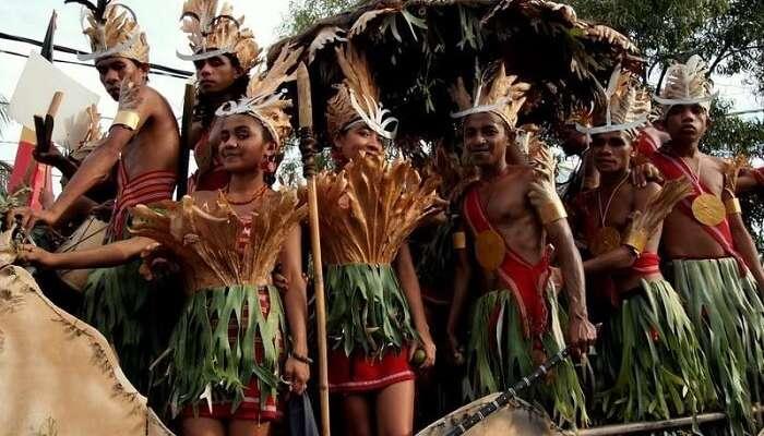 carnival,tribes,timor