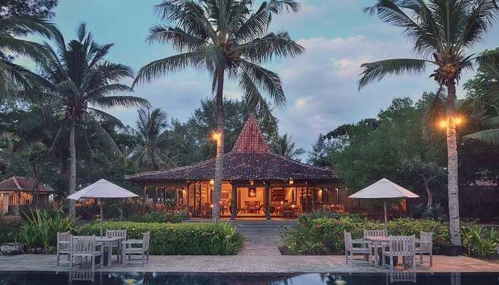 Desa Dunia is a beach facing property