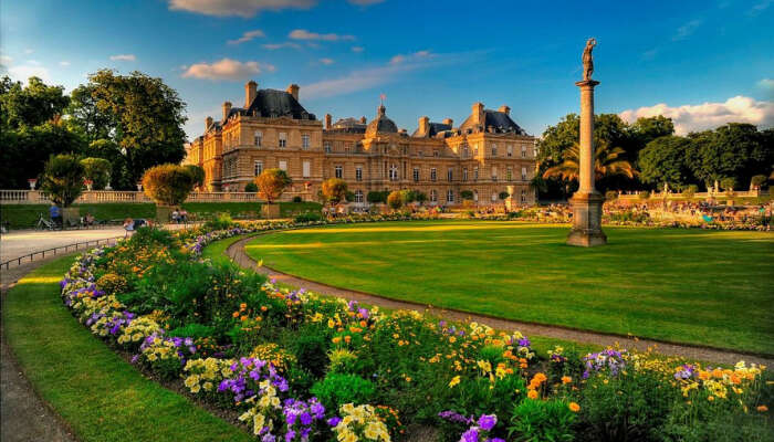 one of the most famous parks in Paris