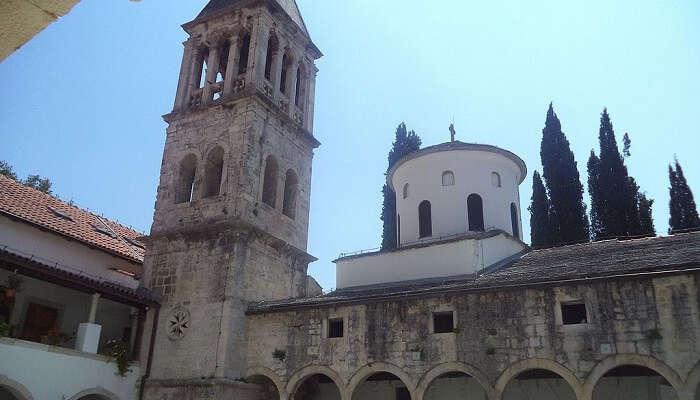 monastery in krka