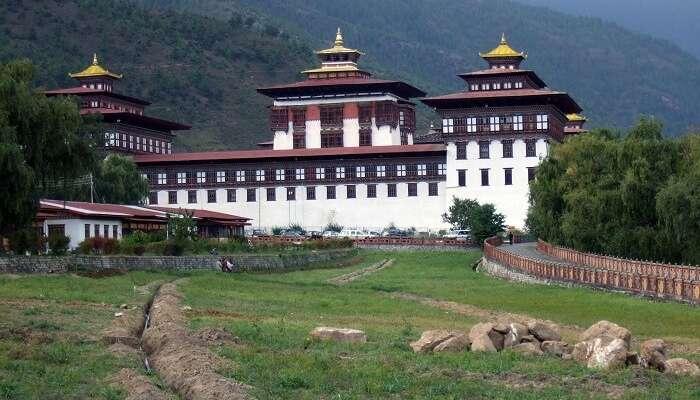 seat of power in Bhutan