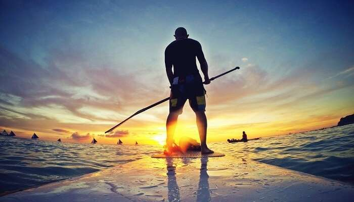 water sports, timor,indonesia,sunrise