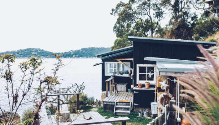 cottage near nature