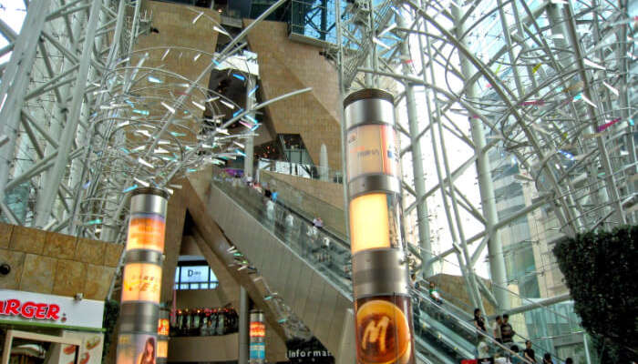 shopping complex in Mong Kok