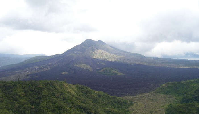 View of Mount Batur