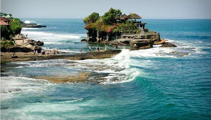 Tanah Lot is a sunset lovers paradise