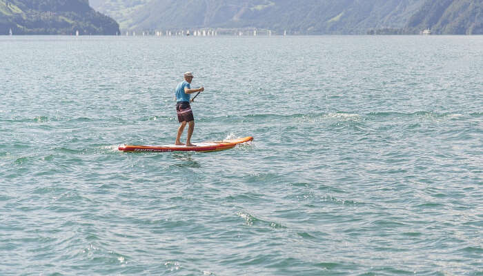 Standup Paddle Boarding in Nepal