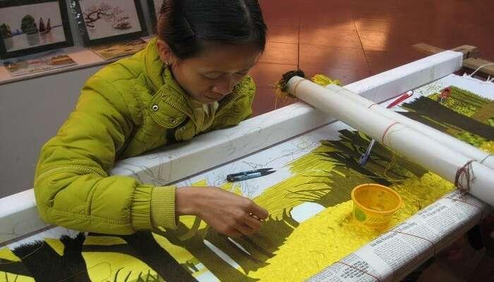Ethnic Weaving Ethnic Art