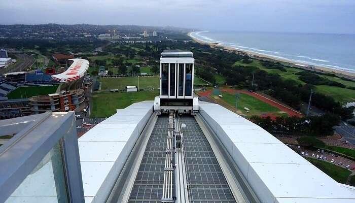 South Africa Durban Stadium Skycar