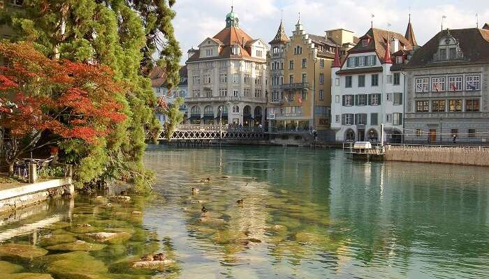 Old Town Of Lucerne