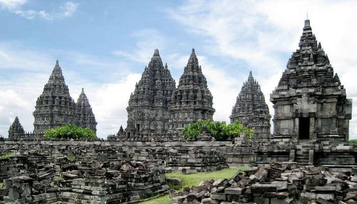 Temple in Yogyakarta