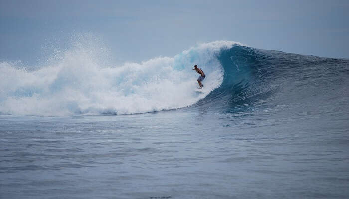 the best surfing conditions in Indonesia