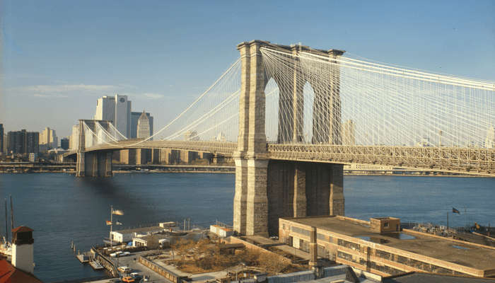 Brooklyn Bridge view
