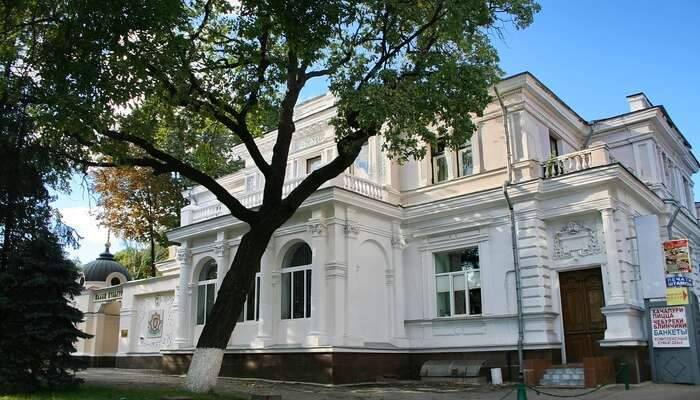 Chaev Mansion in Russia