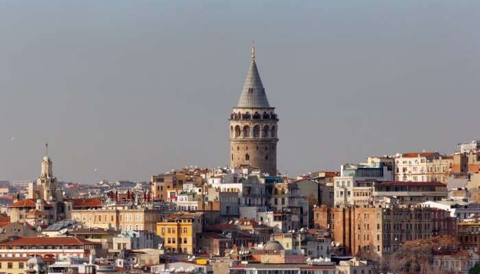 Get on the Galata Tower